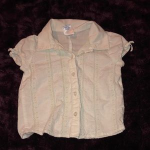 12-18 months button down blouse